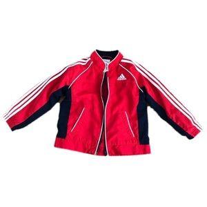 ADIDAS 24 m Jacket read long sleeved zip up